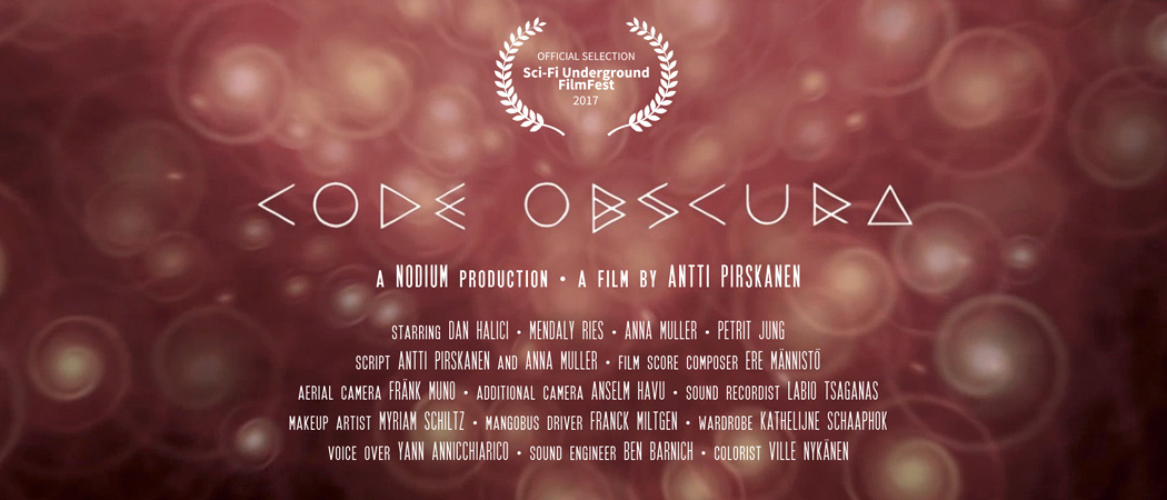Code Obscura - a science fiction short film